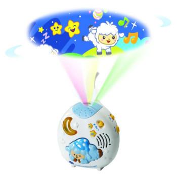 Vtech Projektor s ukolébavkami a beránky na obloze