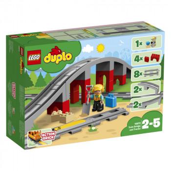 LEGO DUPLO® 10872 Doplňky k vláčku – most a koleje