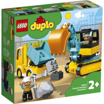 LEGO DUPLO® Town 10931 Náklaďák a pásový bagr
