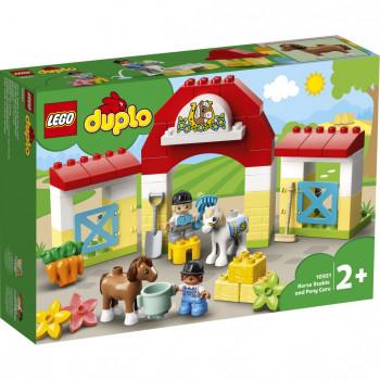 LEGO DUPLO® Town 10951 Stáj s poníky