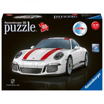 Ravensburger 3D Puzzle Porsche 911R 108 dílků