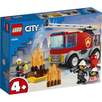 LEGO City 60280 Hasičské auto s žebříkem