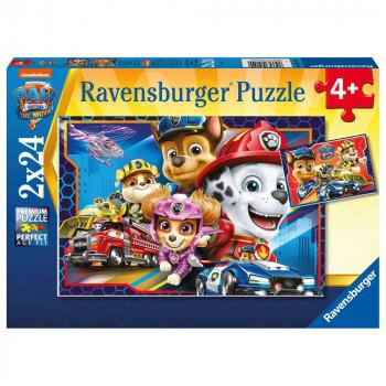 Ravensburger Puzzle 051540 Tlapková patrola: Záchranáři 2x24