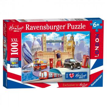 Hamleys Ravensburger Londýn XXL 100 dílků