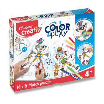 Sada Maped Color&Play Mix skládačka