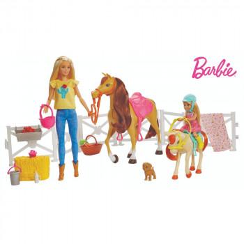 Mattel Barbie Panenka s koněm a doplňky