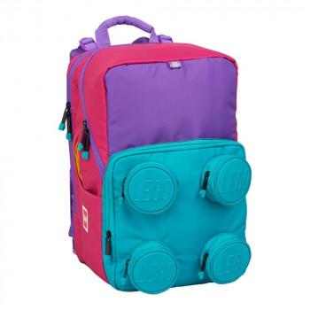 LEGO Pink/Purple Petersen - školní aktovka