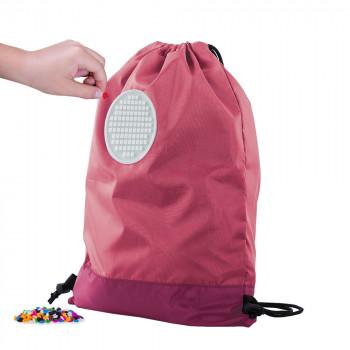 Pixie Crew Drawstring bag růžový