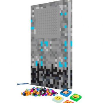 Pixie Crew Poznámkový blok Minecraft šedý