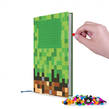 Pixie Crew Poznámkový blok Minecraft zelený