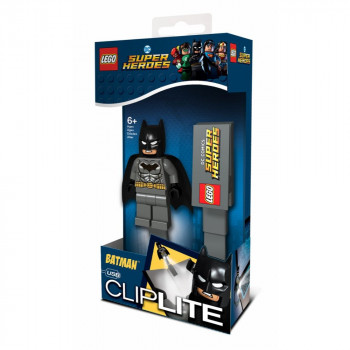 LEGO DC Super Heroes Grey Batman lampička na čtení
