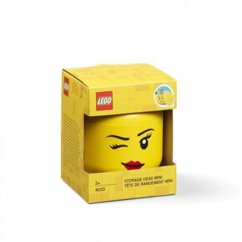 LEGO úložná hlava (mini) - whinky