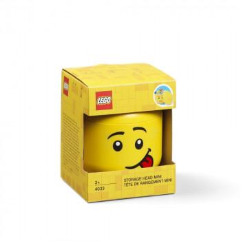 LEGO úložná hlava (mini) - silly