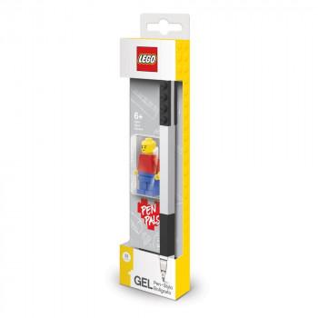 LEGO Gelové pero s minifigurkou, černé - 1 ks