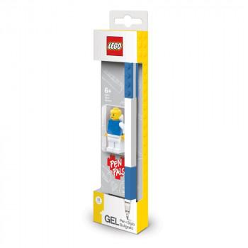 LEGO Gelové pero s minifigurkou, modré - 1 ks