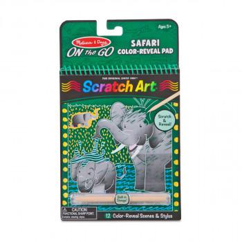 Škrabací obrázky - Safari