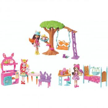 Mattel Enchantimals Domácí pohoda na zahradě