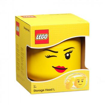 LEGO úložná hlava (velikost L) - Whinky