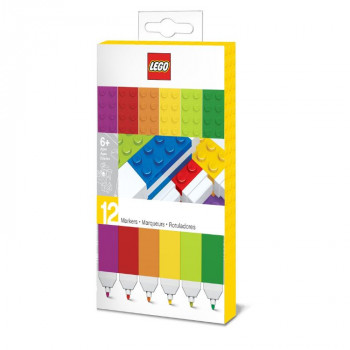 LEGO Fixy, mix barev - 12 Ks