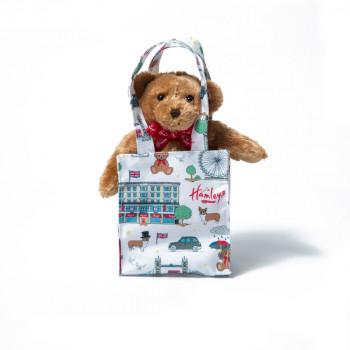 Hamleys Londýn Medvídek v tašce