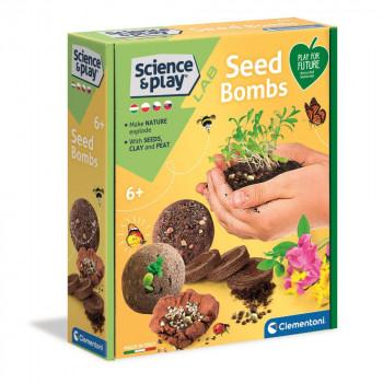 Clementoni Vědecká sada Semínkové bomby