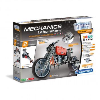 Clementoni Mechanická laboratoř - Motorka a formule