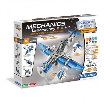 Clementoni Mechanická laboratoř - Letadla a vrtulníky