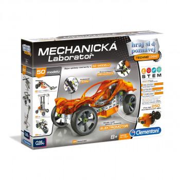 Clementoni Mechanická laboratoř - Auto s pohonem
