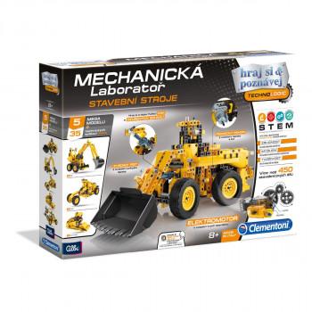 Clementoni Mechanická laboratoř - Stavební stroje