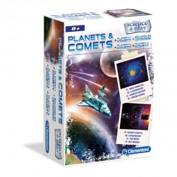 Clementoni Kreativní sada - Planety a komety