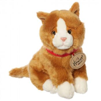 Hamleys plyšák - zlatá kočka, 18 cm