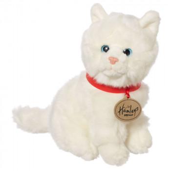 Hamleys plyšák - bílá kočka, 18 cm