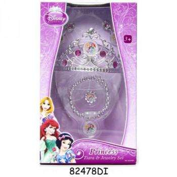 Disney Princezny - Set s korunkou a šperky