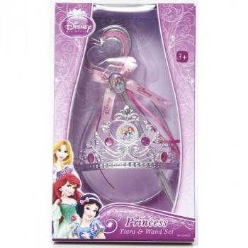 Disney Princezny - Set s korunkou a hůlkou