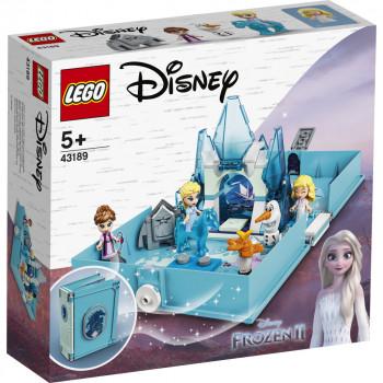 LEGO Disney Princess 43189 Elsa a Nokk a jejich pohádková kn