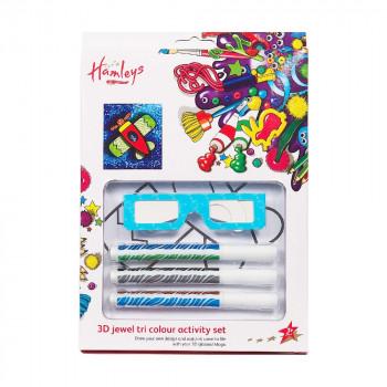 Hamleys 3D trojbarevné fixy