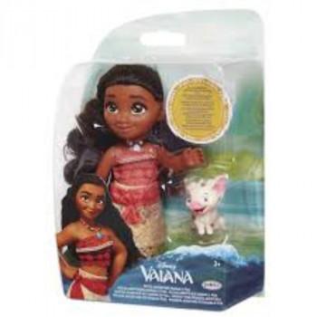 Vaiana - 15 cm princezna a kamarád