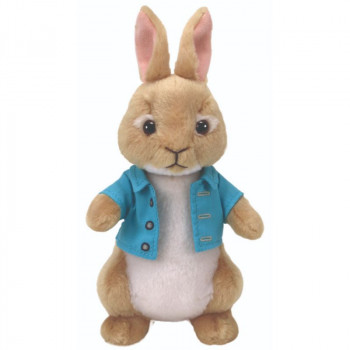 TY Beanie Babies PETER RABBIT Cottontail
