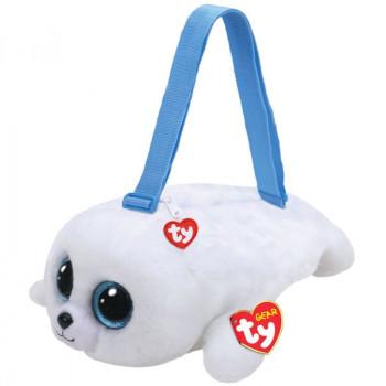 TY Fashion flitrová taška na rameno ICY - tuleň
