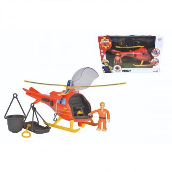Požárník Sam Vrtulník s figurkou