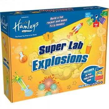 Hamleys vědecká laboratoř - exploze