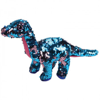 TY Beanie Boos Flippables TREMOR flitrový dinosaurus 24 cm