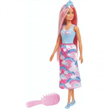 Barbie dlouhovláska s hřebenem