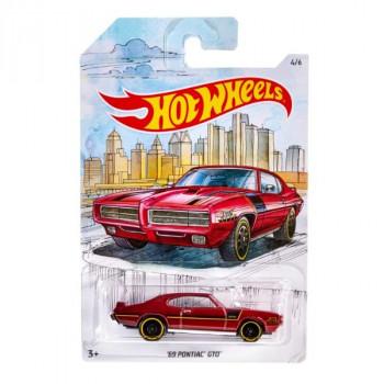 Mattel Hot Wheels Tématické auto Klasická kolekce McLaren 72