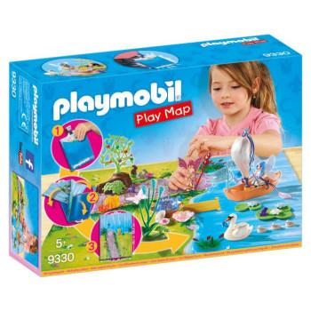 PLAYMOBIL Play Map Vílí zahrada