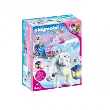 PLAYMOBIL Sněžný trol se sáňkami