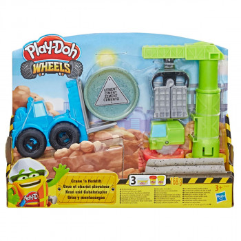 Play-Doh Wheels Stavba