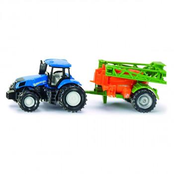 Siku Super Traktor s přívěsem na rozprašování hnojiva