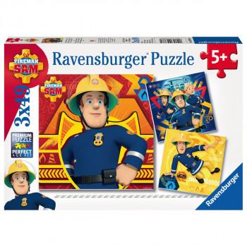 Ravensburger Zavolej Sama v nouzi 3x49 dílků