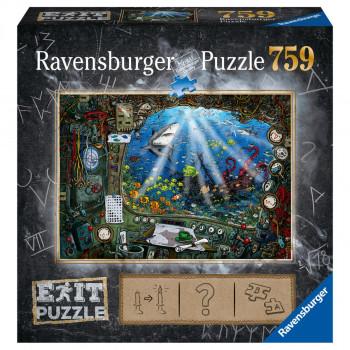 Ravensburger puzzle Exit Puzzle Ponorka 759 dílků